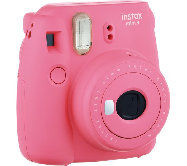 CAMARA INSTAX MINI 9 ROSA FLAMINGO
