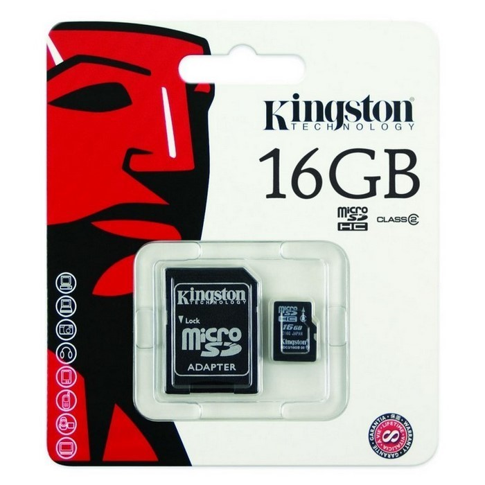 TARJETA MICRO SD 16GB (KINGSTON)