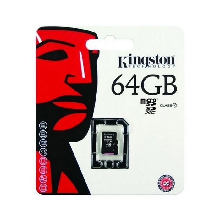 TARJETA MICRO SD 64GB (KINGSTON)
