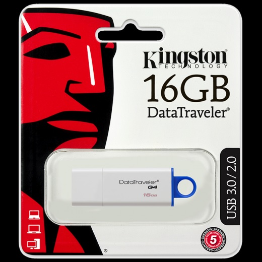 PENDRIVE 16GB (KINGSTON)